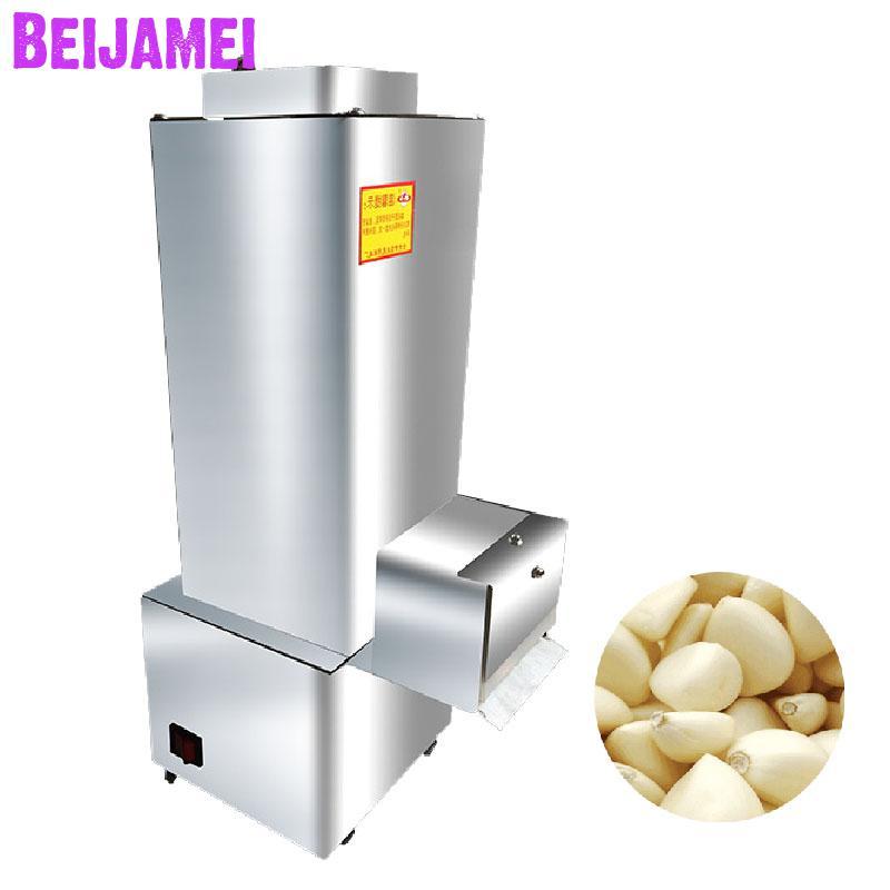 BEIJAMEI Stainless steel commercial garlic peeling machine 20kg h garlic peeler electric garlic skin peeling machine