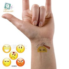 Mini Body Art Waterproof Temporary Tattoos For Women And Men Lovely Cartoon Design Flash Tattoo Sticker CC6053