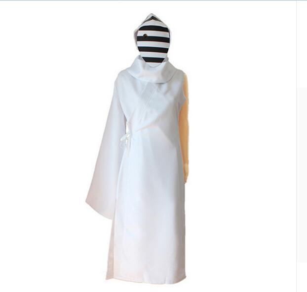 Anime Tokyo Ghoul cosplay costume Yauhisa Nashiro Yasuhisa Kurona cosplay suits white black suits with mask performance cosplay