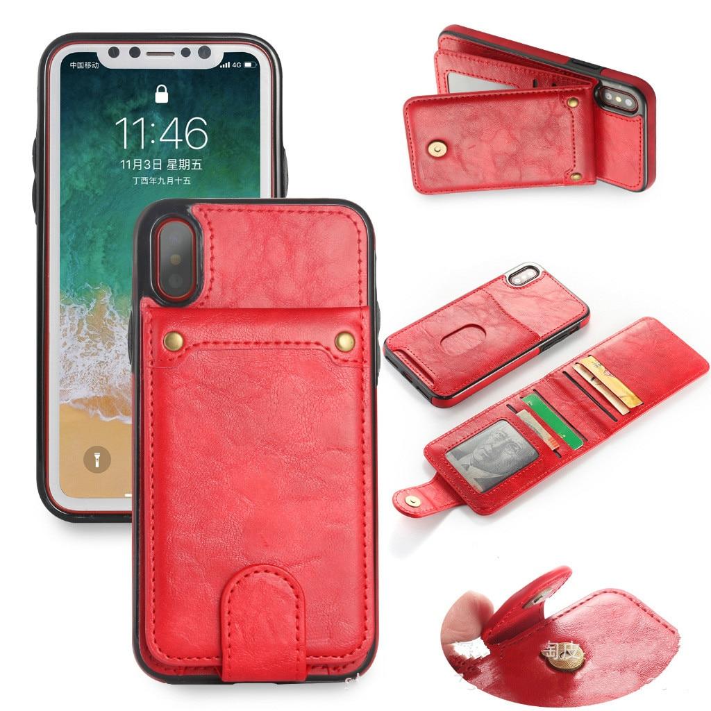 Для samsung Примечание 8 чехол кожаный чехол Многофункциональный съемная Retor бумажник телефон Обложка для samsung S8 S9 Plus с рамкой карты слоты