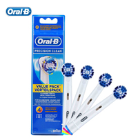 Genuine Oral B EB20 4 Precision Clean Electric Toothbrush Head Replaceable Brush Heads For D12013 D16523