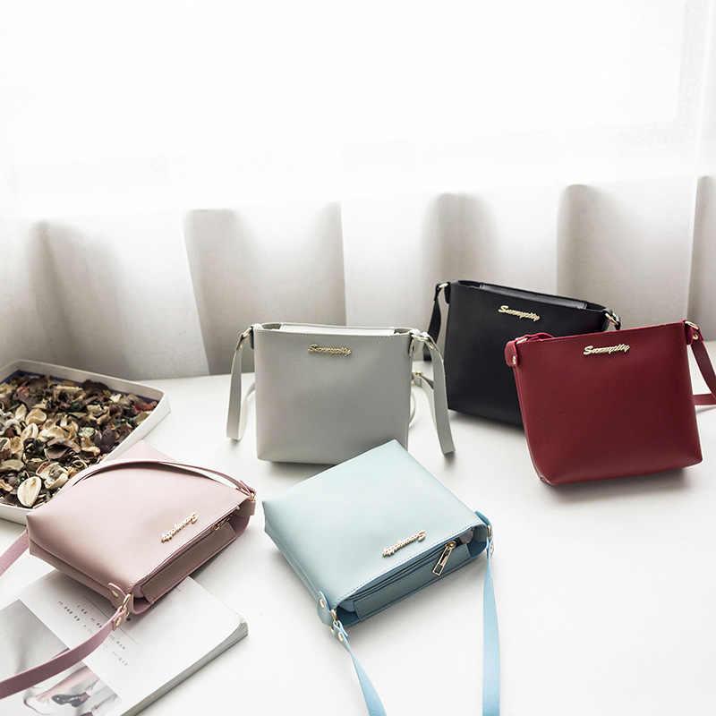 Bokinslon, bolsos de hombro para mujer, novedad, bandolera de mujer de piel sintética, bolsos de mano populares a la moda para mujer
