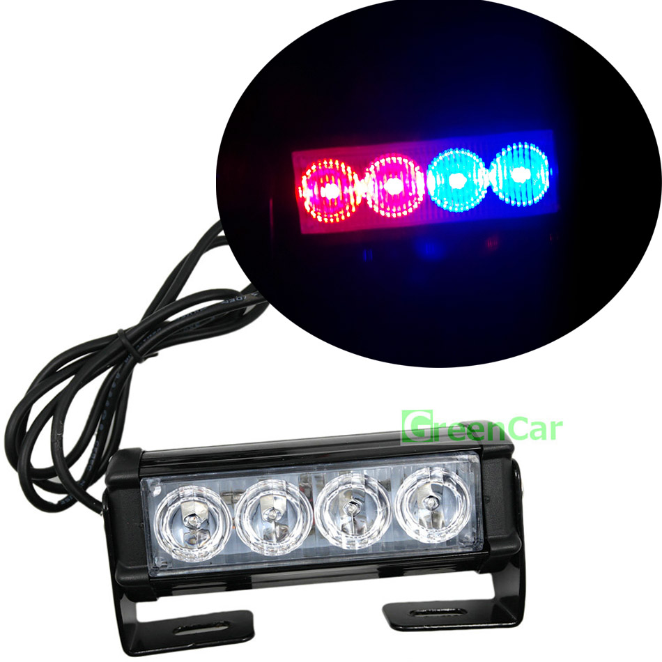 Blue Red 6led 4tone Horn Bike Light Electronic Siren For Kids Police Style Strobe Circuit Electronics Area 1pcs 4w Car Warning Emergency Flashing Auto Beacons Front Grill Lightbar Hazard