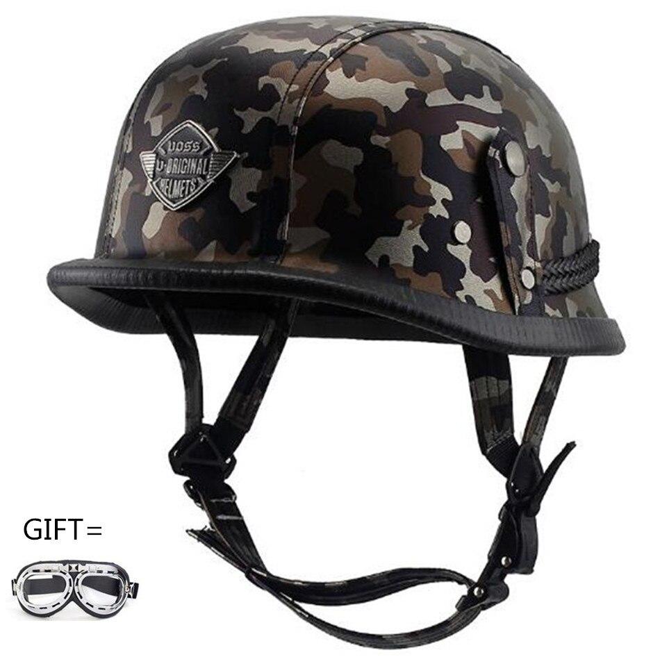 2018 Camouflage Motorcycle Off Road dirt bike helmet Motocross racing Helmet Downhill mountain helmet Suitable for Adult DOT