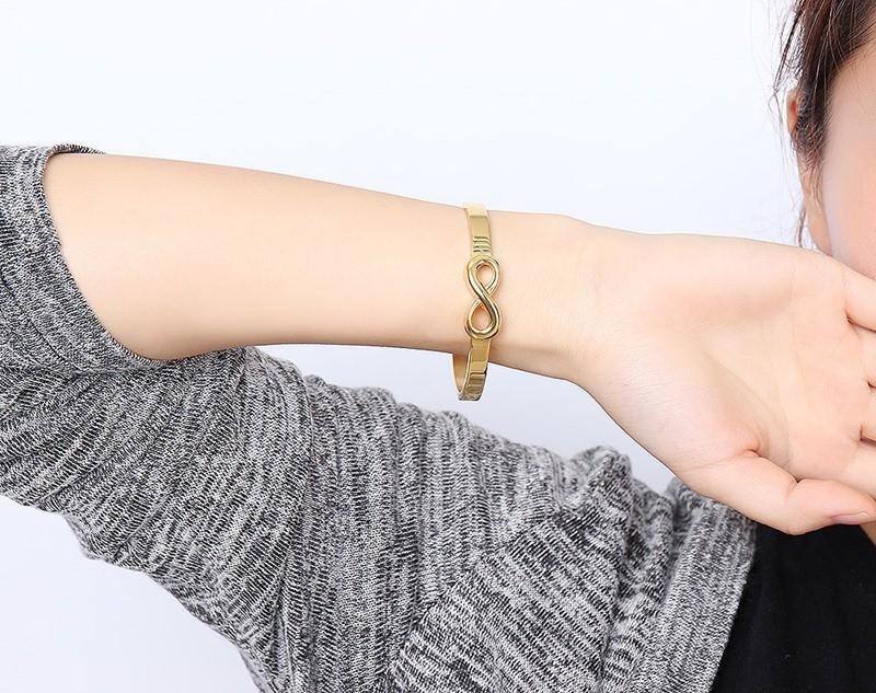 Infinity Bracelets Bangle for Women