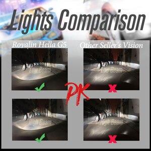 Image 5 - ROYALIN Full Metal D1S D2S D3S D4S Bi Xenon Headlight Lenses Blue For Hella 3R G5 Car Light Retrofit