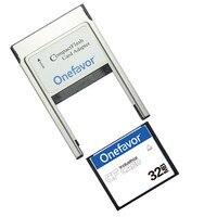 Небольшая емкость! 32 Мб 64 Мб 128 МБ 256 МБ 512 МБ компактная флеш-карта промышленная карта памяти CF с адаптером PCMCIA Type II & Type I