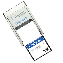 Kleine Kapazität!!! 32 mb 64 mb 128 mb 256 mb 512 mb Compact Flash Karte Industriellen CF Speicher karte Mit PCMCIA adapter typ II & Typ I