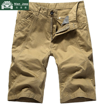 Fashion Summer Cargo Shorts Men Solid Military Mens Shorts Outwear Bre