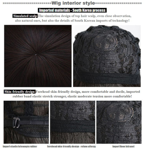Image 3 - WTB peluca sintética de Scathach para Cosplay, disfraz de Fate/Grand Order, pelucas de juego, Disfraces de Halloween, cabello, material de alambre de alta temperatura