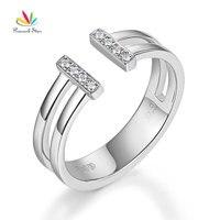 Павлин звезда 14 К белого золота 585 обручальное Юбилей кольцо 0.04 кт Бриллиантовое Ювелирные украшения