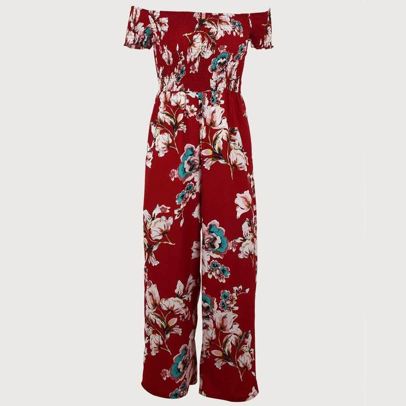 18ee726e188 rompers womens jumpsuit plus size women overalls body suits for elegant  women Flower printing women playsuit fashion nova woman