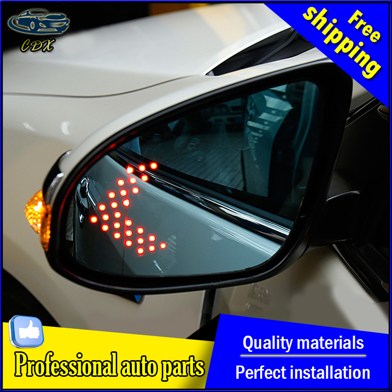 For Toyota Camry Blue rearview mirror car styling 2015 2016 For Camry rearview mirror LED turn electric heating no blind spot rearview mirror turn signal light for camry corrola vios 2014 2015 year for car