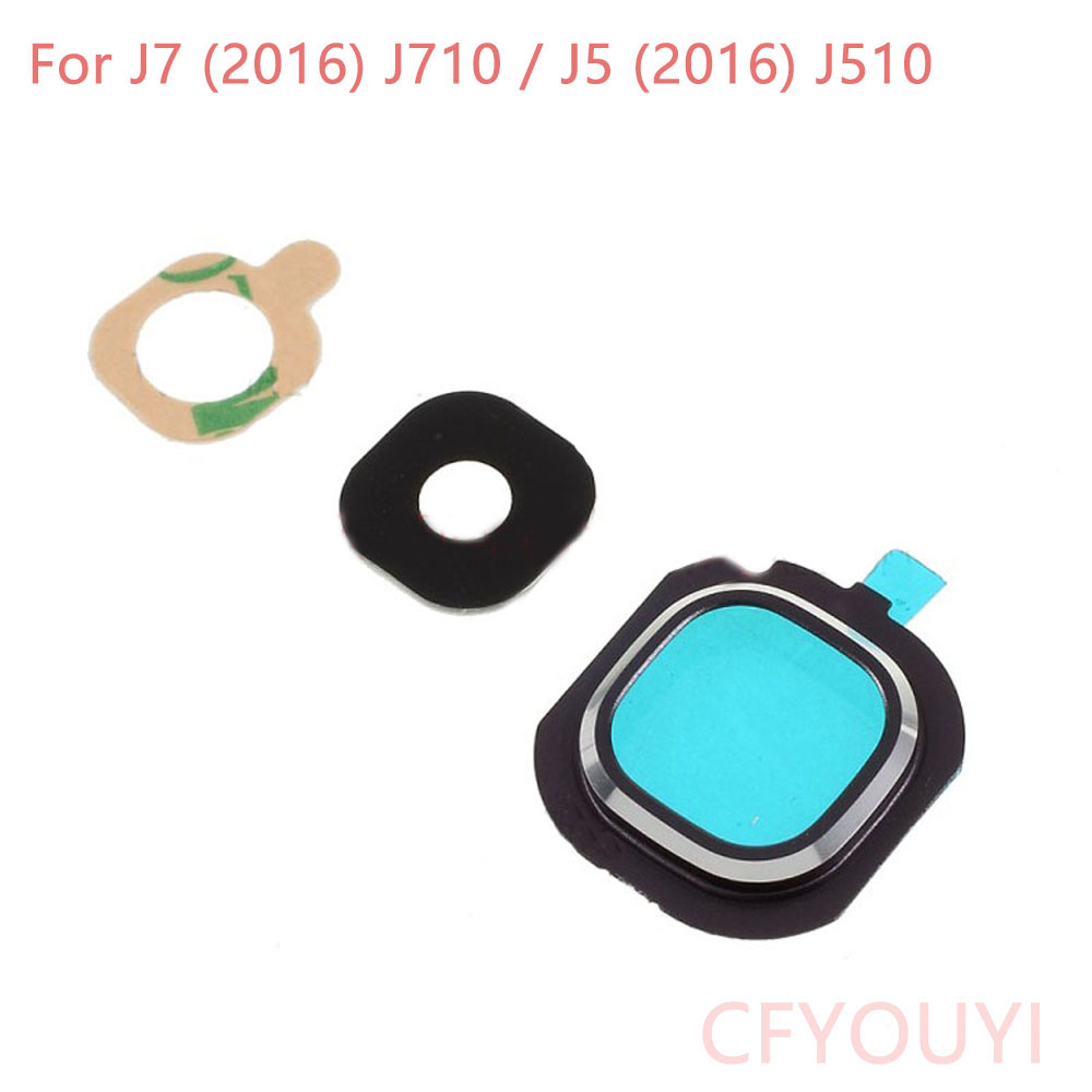 CFYOUYI Replacement Parts J510 Back Rear Camera Lens Cover Ring For Samsung Galaxy J7 (2016) J710 / J5 (2016) J510