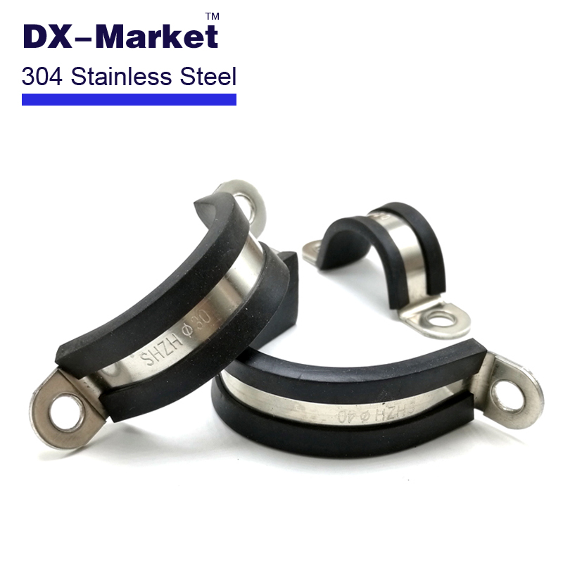 Popular rubber pipe clamps buy cheap