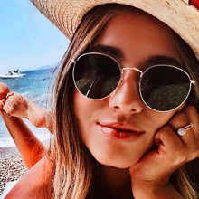 цена CURTAIN Gafas De Sol Mujer 2019 Fashion Oval Sunglasses Women Small Frame Steampunk Retro Sun Glasses Female Oculos De Sol UV400