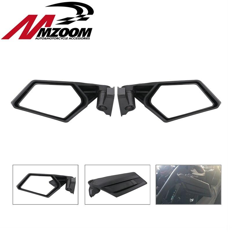 Free Shipping Motorcycle Accessories Rearview Mirror Side Mirror For UTV Polaris RZR May Am Maverick X3 2017 2018 CSL2018 polaris am vapour