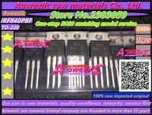 2018 100 + חדש מיובא מקורי Aoweziic IRF840PBF IRF840 TO 220 טרנזיסטור אפקט שדה MOSFET 500 V 8A