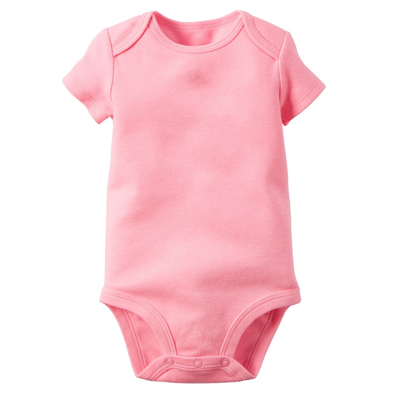 fe82cc6dbd61 Summer Baby Romper Cotton Short Sleeve Triangle Romper For Baby Boy And  Girl Plain Solid Color Summer Baby Clothes-in Rompers from Mother   Kids on  ...