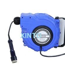 Лампа Электрическая катушка для шланга, автоматическая выдвижная катушка водопроводные шланги