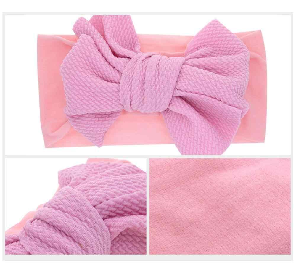 ベビーカチューシャリボン手作り DIY 幼児幼児子供ヘアアクセサリー少女の新生児弓ちょう結び包帯ターバンティアラ # sx