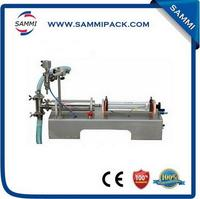 Pneumatic semi-automatic e-liquid filling machine  piston small sachet filling machine