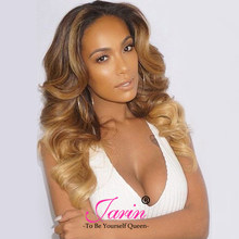 Jarin Ombre Brazilian Hair Body Wave 3 Bundles Human Hair Bundles Deals 3 Tone Color Ombre Human Hair Weave Extensions 1b/4/27(China)