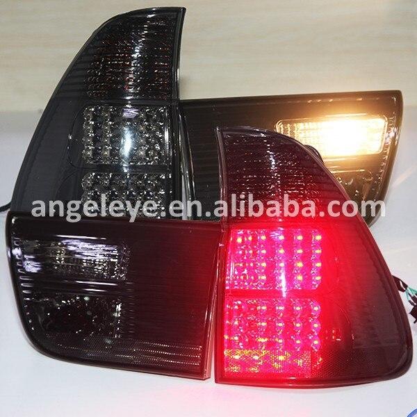 Для BMW X5 E53 1998 2006 год светодиодные задние лампы дым черный Цвет lf