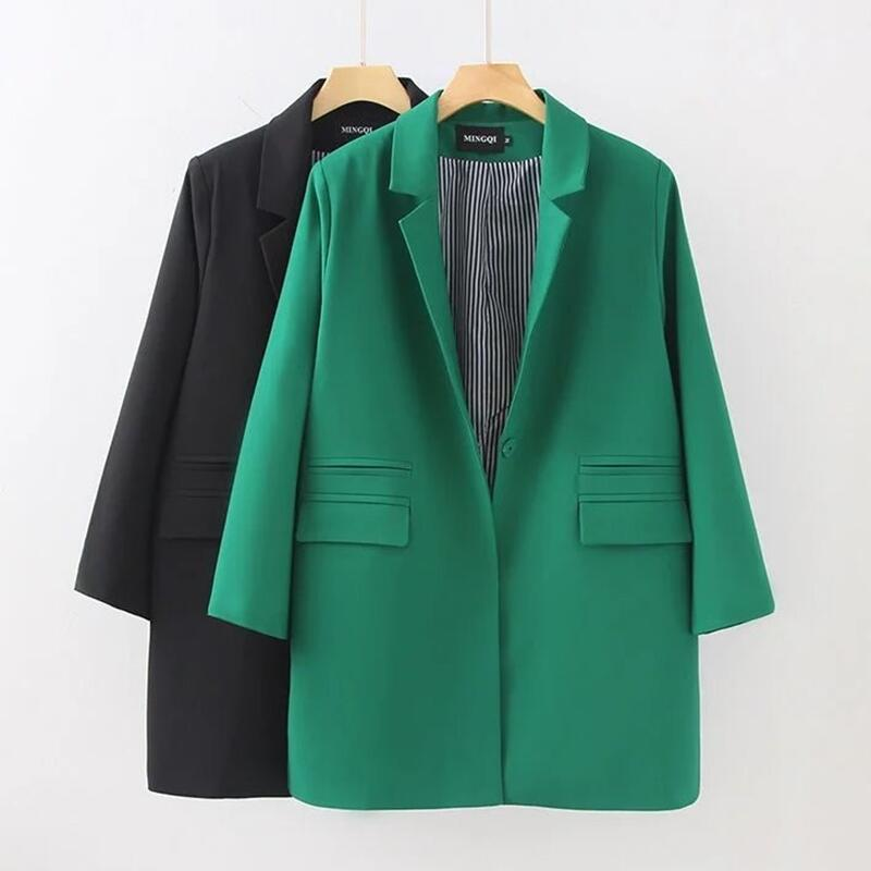 Suit Women Clothing 2019 New Blazer Women Jacket Coat Long Slim Spring And Autumn Blazers Female Outerwear Black OAIRED
