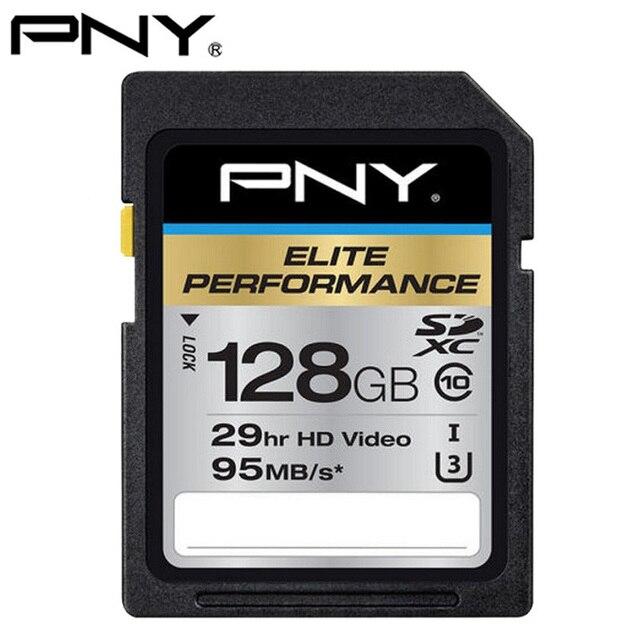128 ГБ PNY Оригинальный U3 SDXC UHS-1 Class10 SD Card Карты Памяти Flash для DSLR Камеры и HD/3D Карты памяти SD