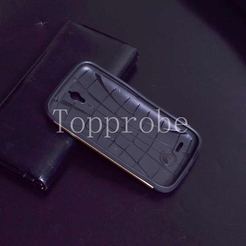 SLIM ARMATURA Anti-bussare copertura Per Huawei G610 G610C G610S c8815 sacchetti del telefono Custodia in silicone protettiva 13th colori con 1x pellicola spedizione