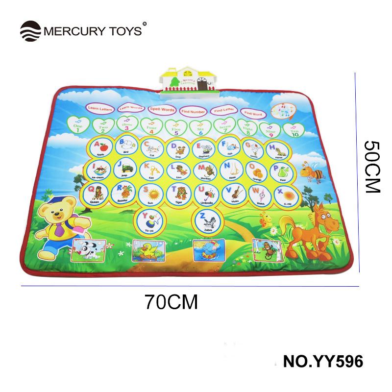 7050 Cm Musical Teppich Kinder Spielmatte Musik Pdagogisches Trommel Englisch Version MERCURY SPIELZEUG