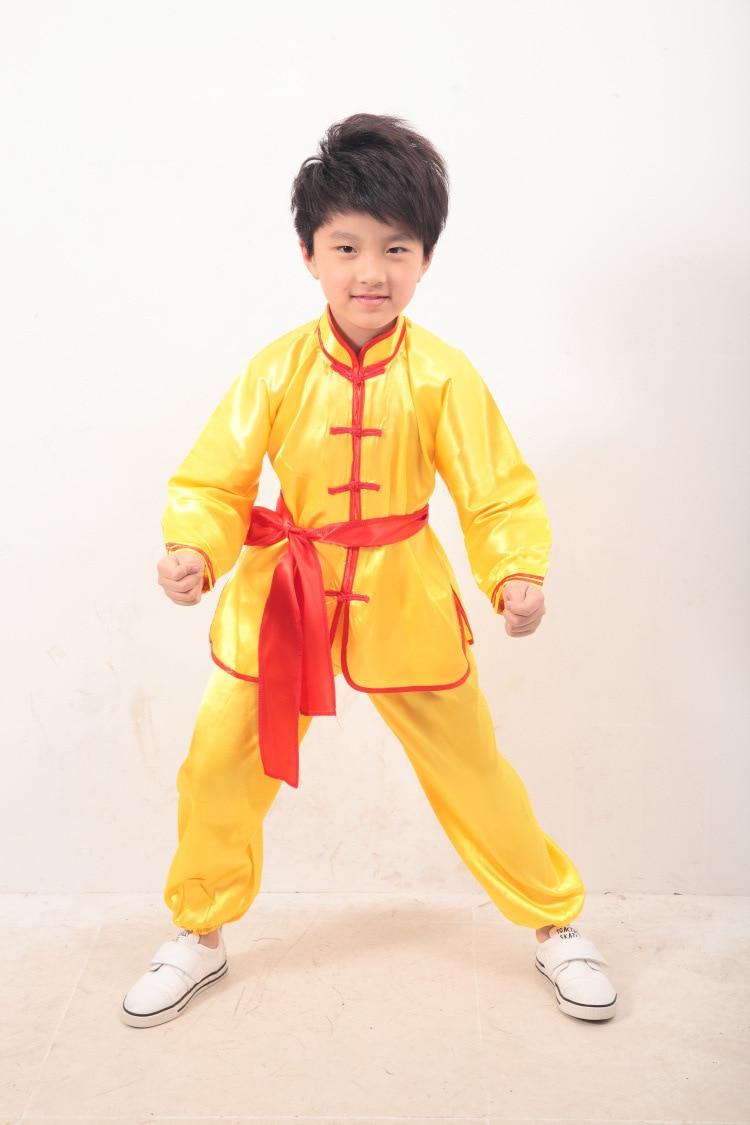 Preschool Students Martial Arts Tai Chi Performance Clothing  # Bois En Chaene