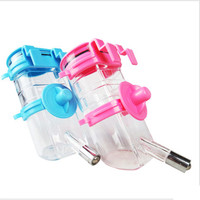 Plastic Pet Bottles Garrafa Puppy Dog Watering Controler Gamelle Chien Manger Drinking Bowl Feeders Food For
