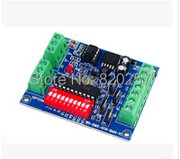 Free Shipping 4CH RGBW Dmx512 Dimmer Controller 4 Channel Easy Dmx 512 Controller LED DMX512 Decoder