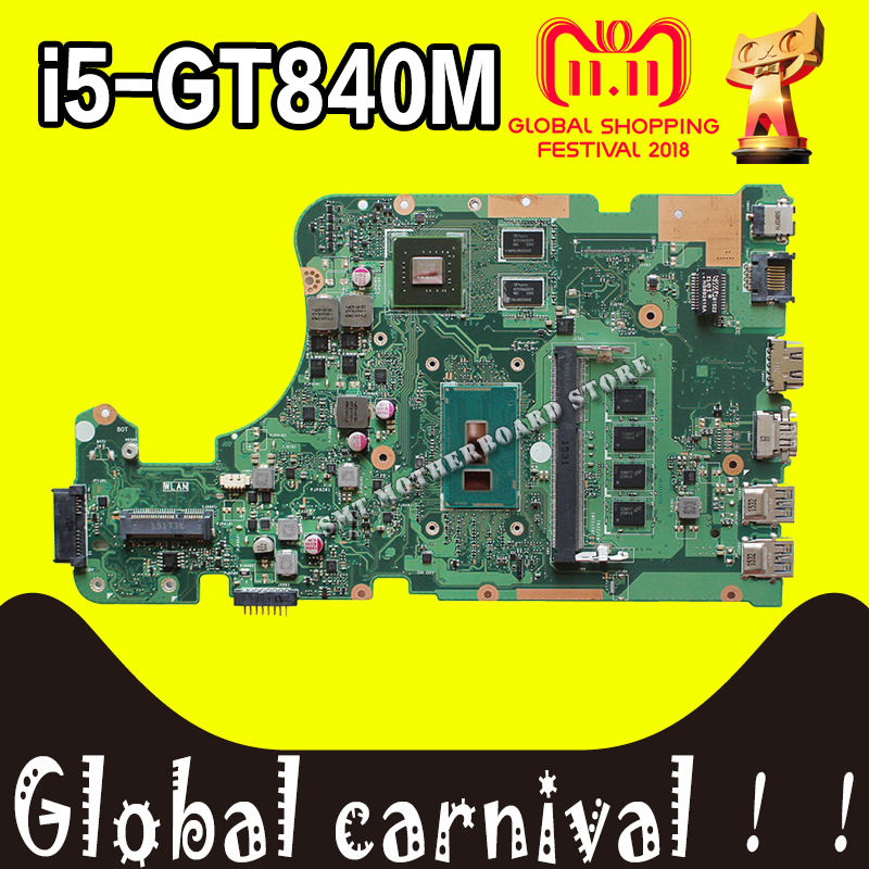 X555LD Motherboard i5-GT840M For ASUS W519L X555LP X555LJ X555LDB X555LB X555LN X555LF X555L laptop Motherboard X555LD Mainboard original interface for asus x555ld a555l x555lj x555lb x555lp x555ln x556u interface on hdd board and on motherboard