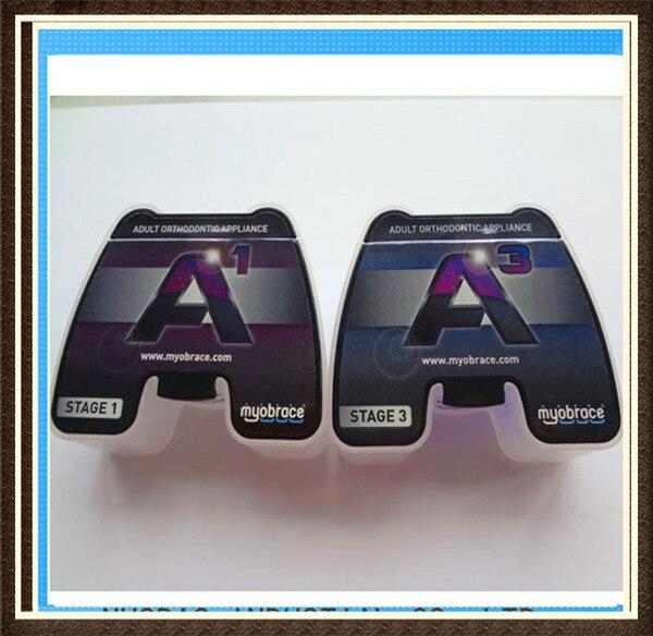 Купить с кэшбэком Original Myofunctional Orthodontic A3 Trainer/Australia MRC A3 Appliance