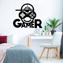 Creative gamer Sticker Waterproof Vinyl Wallpaper Home Decor for Living Room Company School Office Decoration Wall