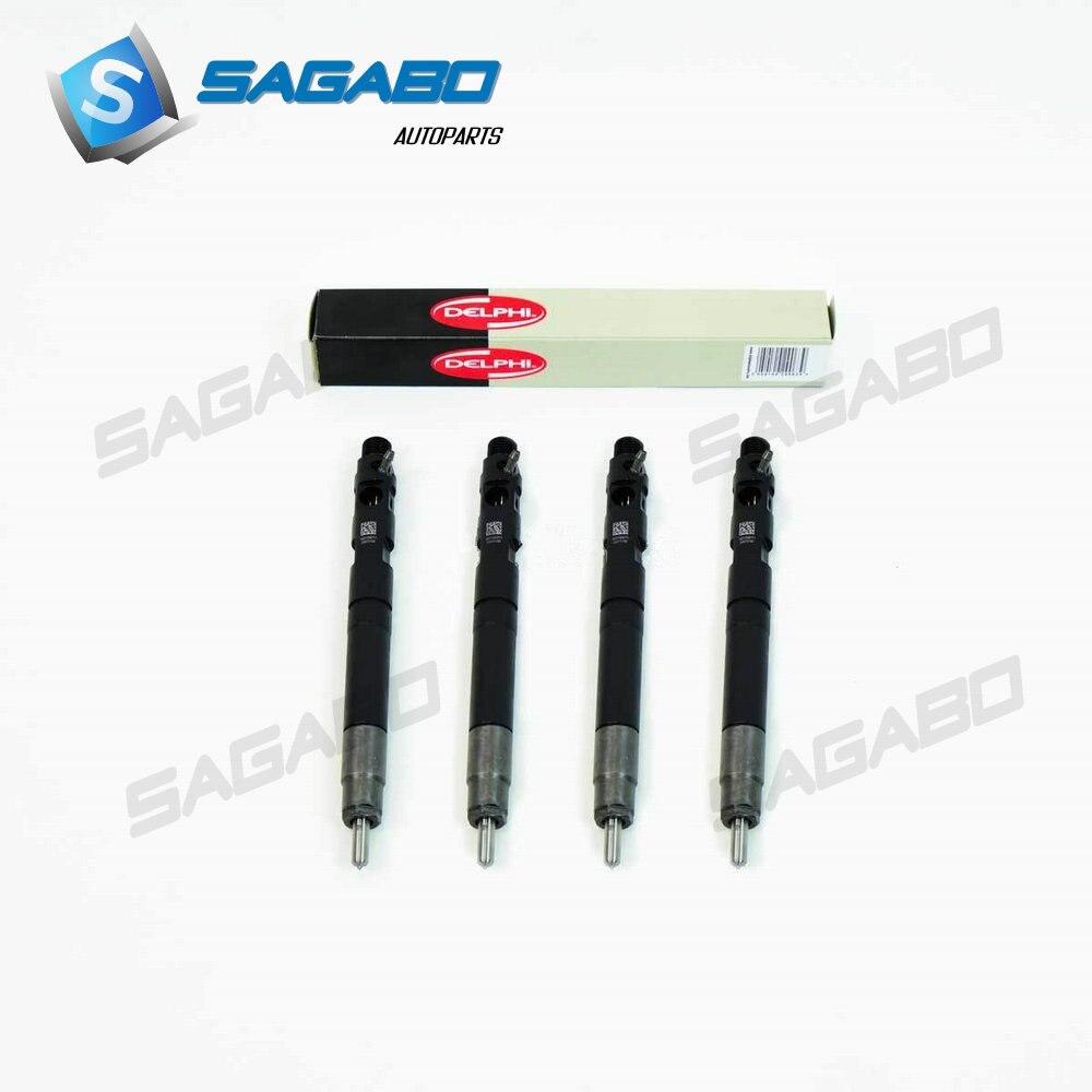 4 stuks Originele nieuwe Common Rail Elektrische Brandstof Injector 28231014 voor Great Wall Hover H6 1100100-ED01 1100100ED01