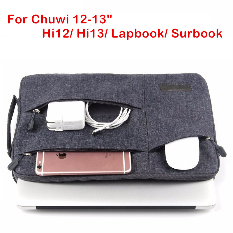 цена на Fashion Sleeve Bag For CHUWI Hi12 Hi13 Surbook 12.3 Tablet PC Laptop Pouch Case For Chu wi HI 12 13 CW02 Lapbook Handbag Cover