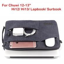 De moda bolso para CHUWI Hi12 Hi13 Surbook 12,3 Tablet PC Portátil Bolsa caso para Chu wi Hola 12 13 CW02 Lapbook bolso cubierta
