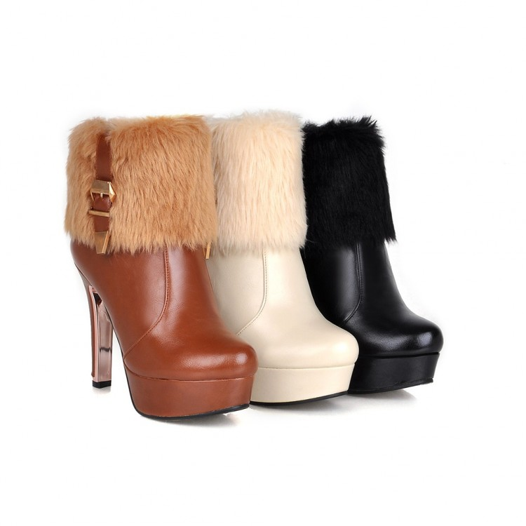 Winter  style thigh high women woman femininas ankle boots botas masculina zapatos botines mujer chaussure femme shoes 502-3 fashion women snow ankle boots fur bota femininas zapatos mujer botines botte chaussure femme botas winter woman shoes flat heel