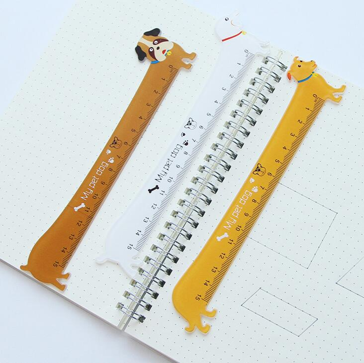 15cm My Pet Dog Plastic Ruler Measuring Straight Ruler Tool Promotional Gift Stationery