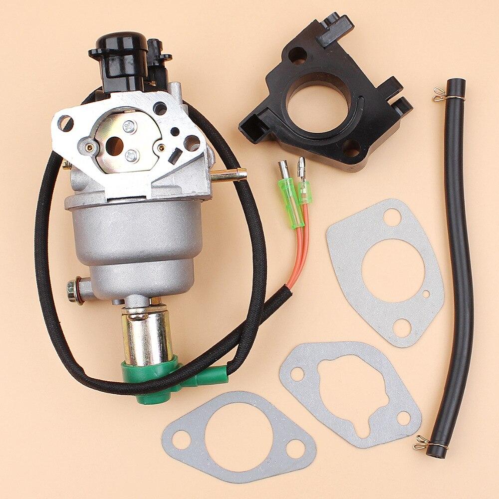 Generator Carburetor Solenoid Gasket Kit For HONDA GX340 GX390 188F 5KW 6.5KW 11/13HP Engine Motor AUTO CHOKE