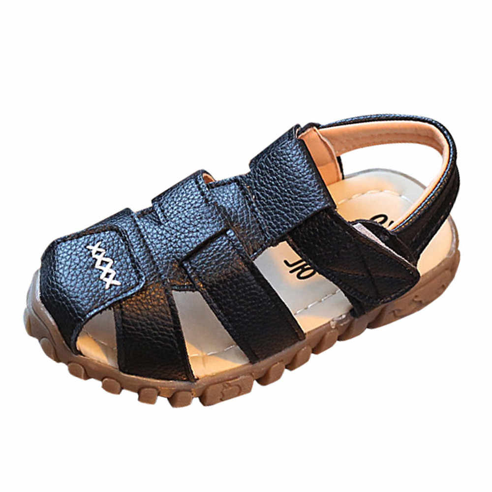 ONTO-MATO Toddler Girls Boys Sandals Kids Summer Baby Girls Boys Unisex Soft Casual Sandals For Children Little Girls Boys Shoes