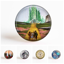 The Wizard of Oz Fairy 25mm Round Glass Cabochon Jewelry Cameo Pendant Settings