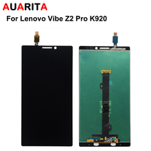 1 unids Pantalla LCD LCD Para Lenovo Vibe Z2 Pro K920 + Asamblea piezas de Repuesto de Panel Táctil De Cristal + Herramientas Gratuitas gratis