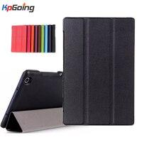 Folding Case For Lenovo Tab 2 A8 8 0 Leather Protective Cover Funda For Lenovo Tab