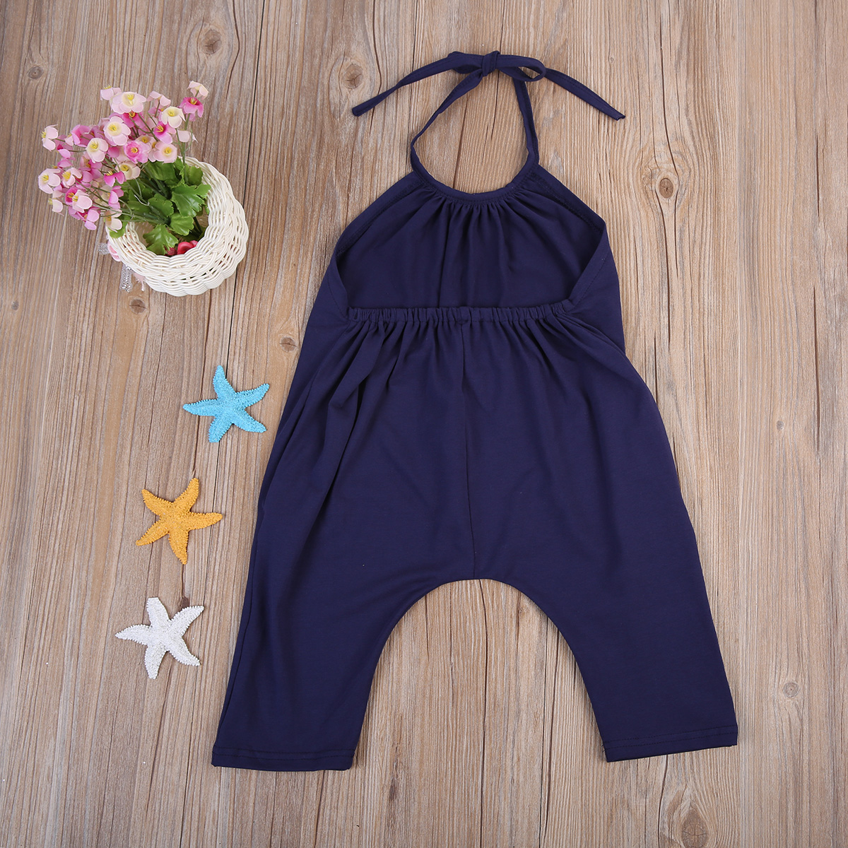 Bodysuits & One-pieces Girls' Baby Clothing 2017 Fashion Kids Baby Girls Strap Cotton Romper Jumpsuit Harem Trousers Summer Clothes
