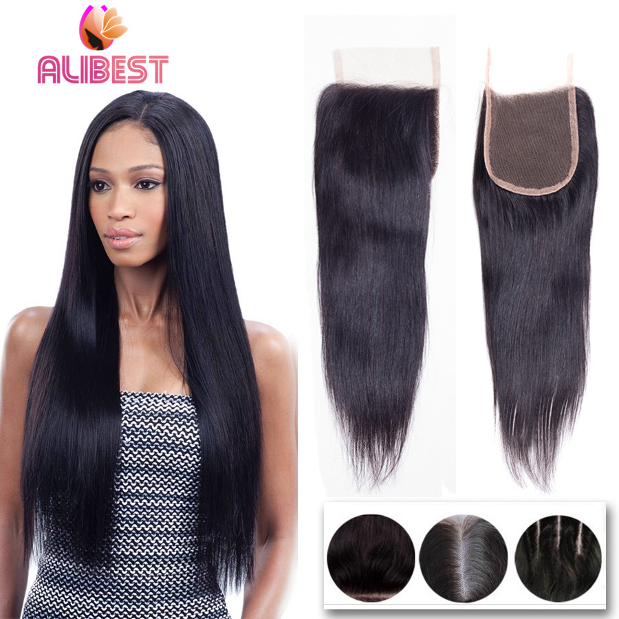 Where to buy hair closures - Cheap Unprocessed Virgin Indian Hair Closure Indian Lace Top Closure With Baby Hair Human Hair Straight